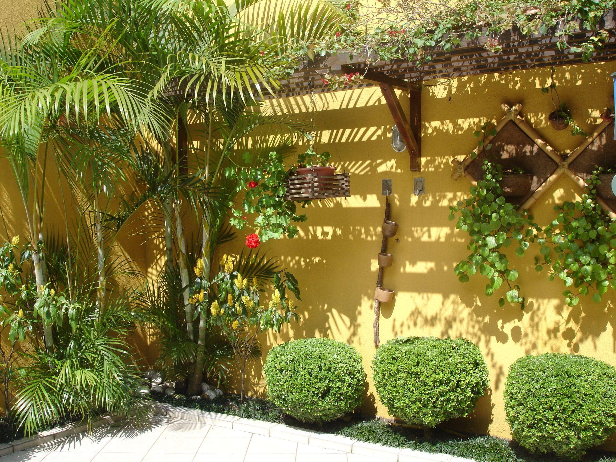 Modelos de jardins residenciais para frente de casa for Residencial casas jardin