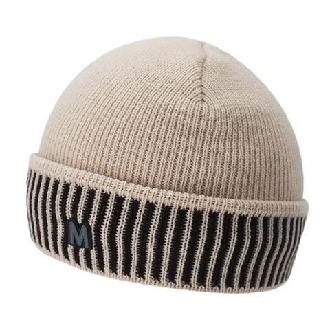 6b3b996b0d4 Men s Knitted Warm Winter Beanie Hat with Velvet Inside - Light Gray ...