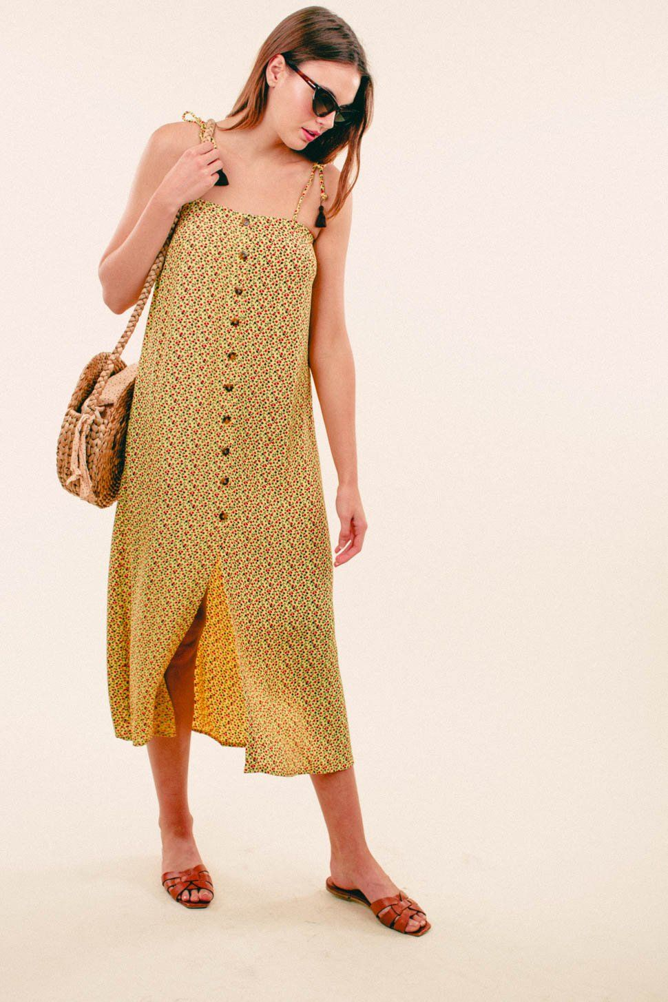 1b3f30b6c144 Arrieta Midi Dress Faithfull The Brand