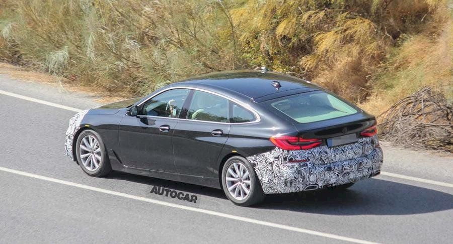 Bmw S 2020 Model Year Revisions For The 6 Series Gran Turismo Have
