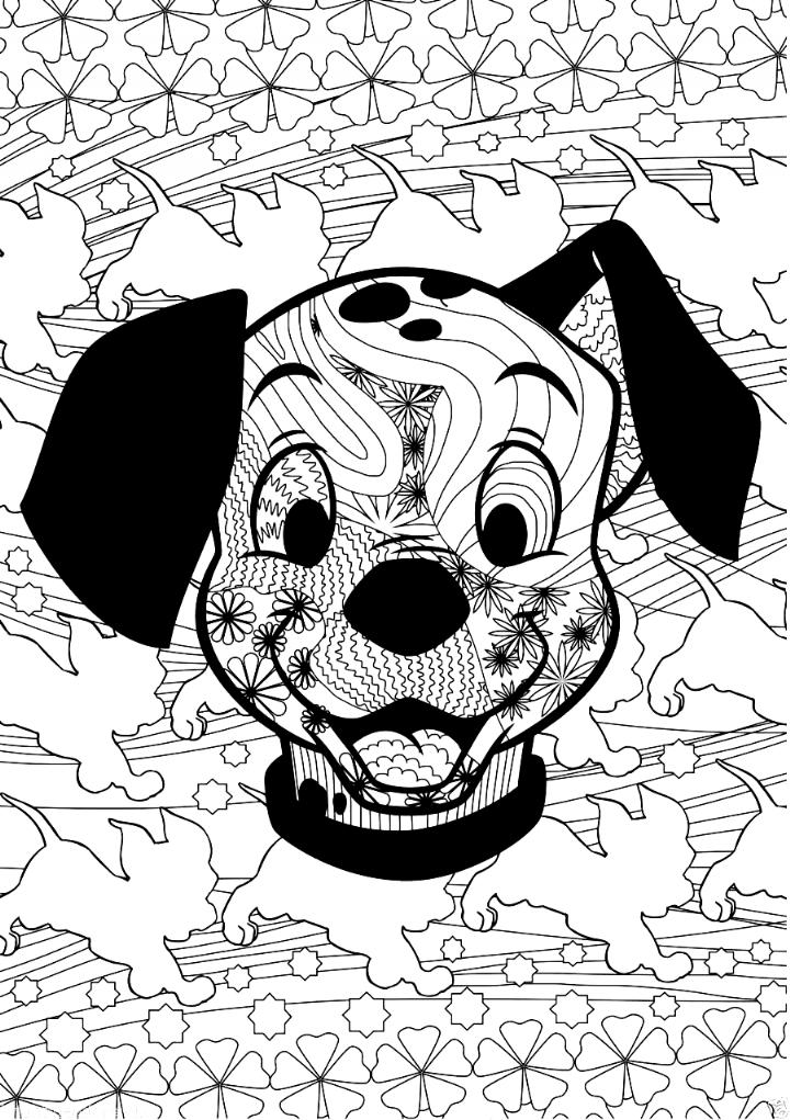 Disney Mandala Coloring Pages Details About Disney Adorable Cute Pet Animals Puppies Coloring In 2020 Mandala Coloring Mandala Coloring Pages Color