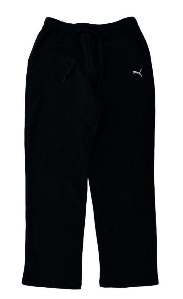 92fc813c78b6 Puma Mens Athletic Sweat Pants Training Performance Fleece Black Size M NEW   Puma  ActiveWearAthleticsSweatPants