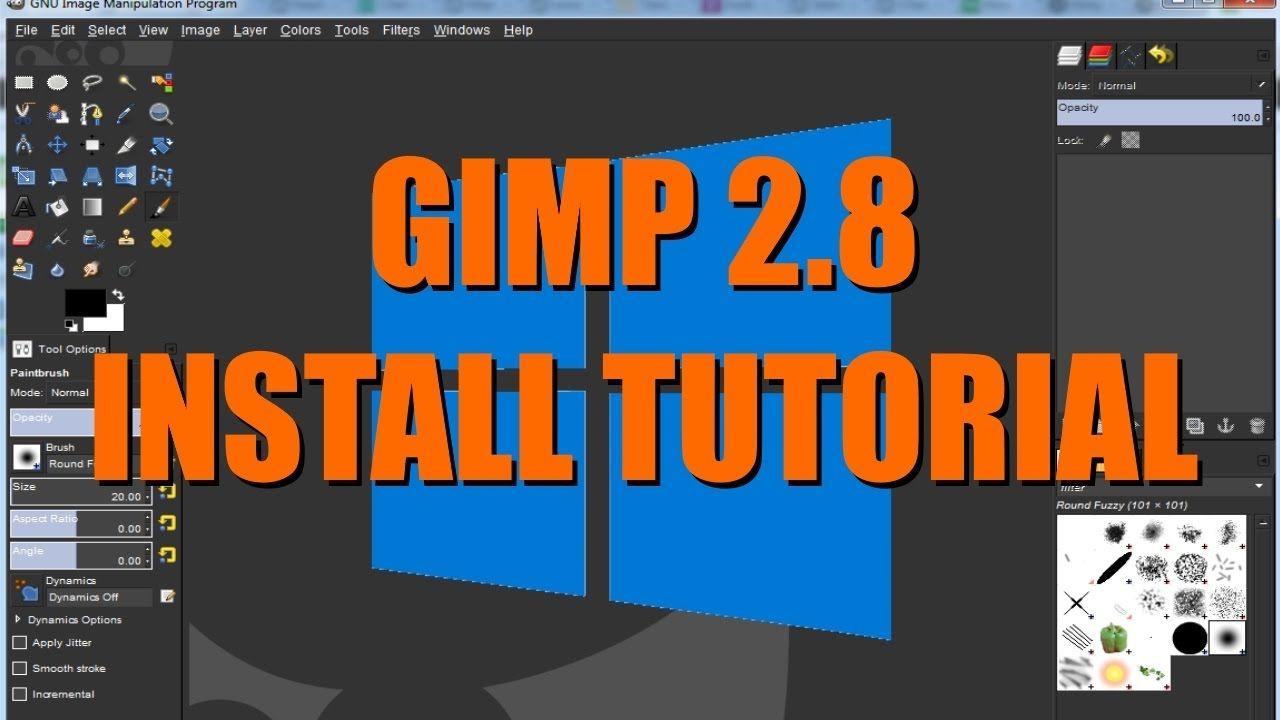 gimp pc download