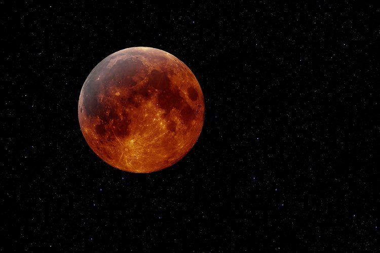 2017 Leo Full Moon Lunar Eclipse   Blood moon, Moon, Lunar ...