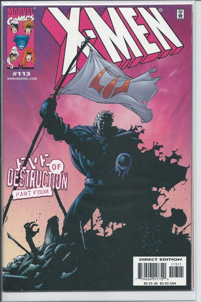 Marvel X Men 113 Eve Of Destruction 4 Vf X Men Comics Marvel Comic Books