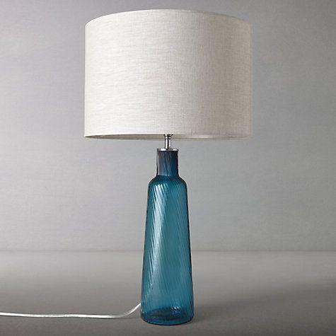 Buy john lewis iris twist glass lamp base online at johnlewis com