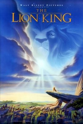 The Lion King 1994 Movie Poster Tshirt Mousepad