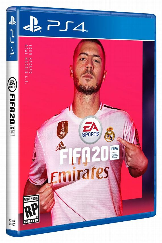 Hazard Van Dijk Picked For Fifa 20 Covers Fifa 20 Fifa Ea