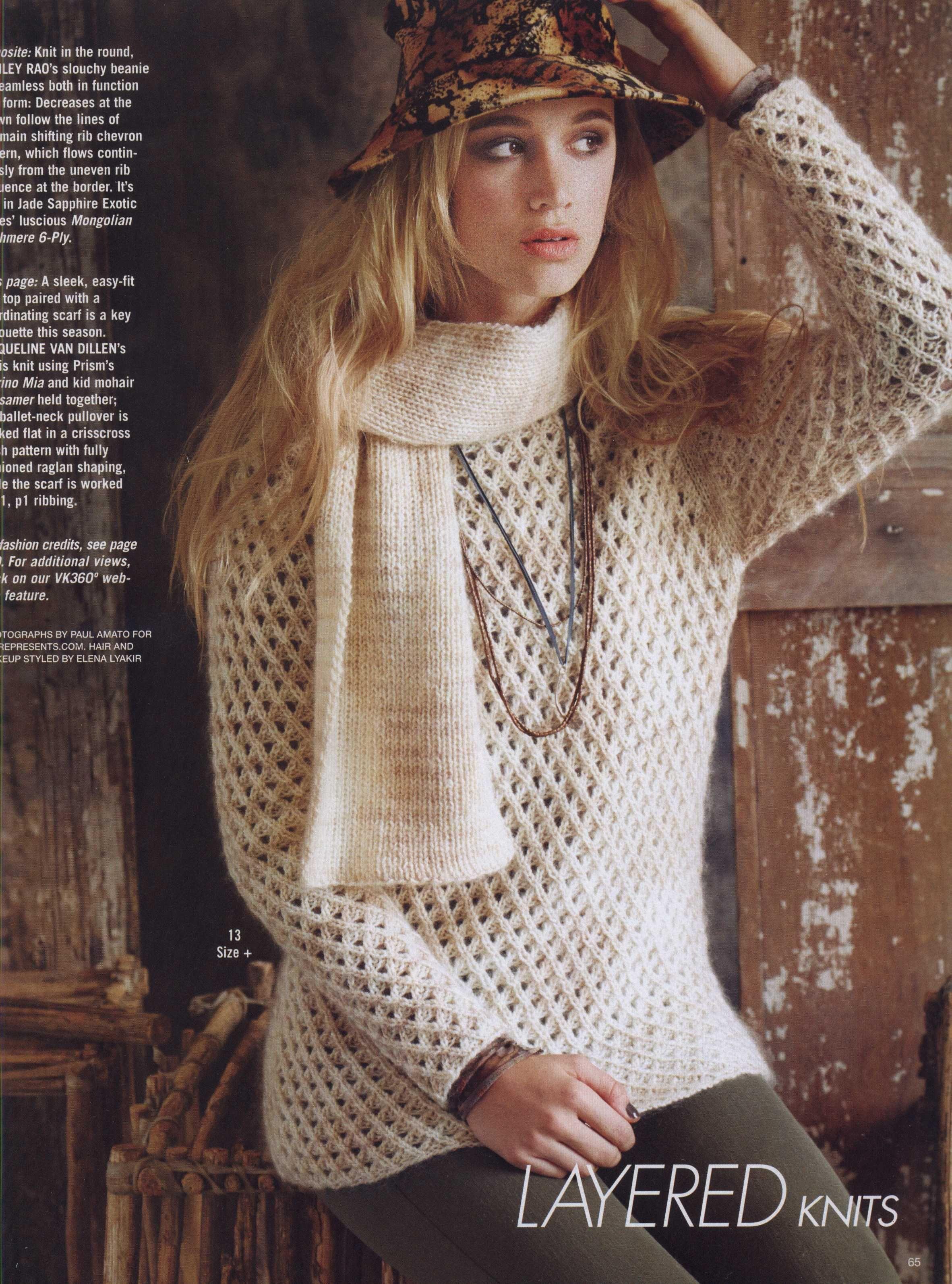 Mesh sweater (1/3)