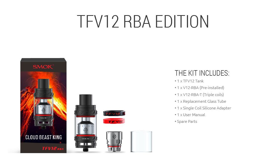 TFV12 - Cloud Beast King - SMOK® Being with you for all great vaping time