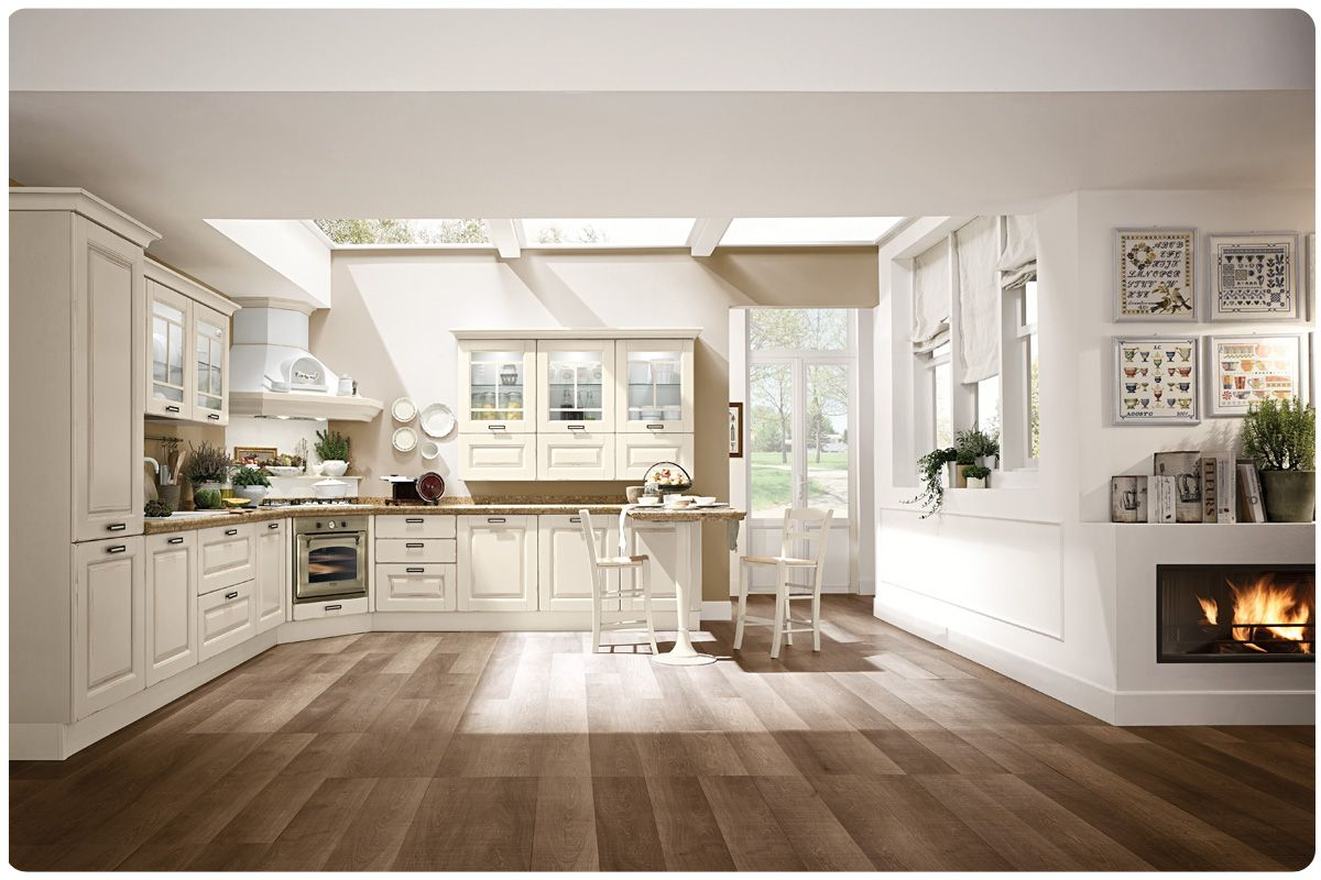 Cucine classiche componibili lube laura casa pinterest for Cucine classiche