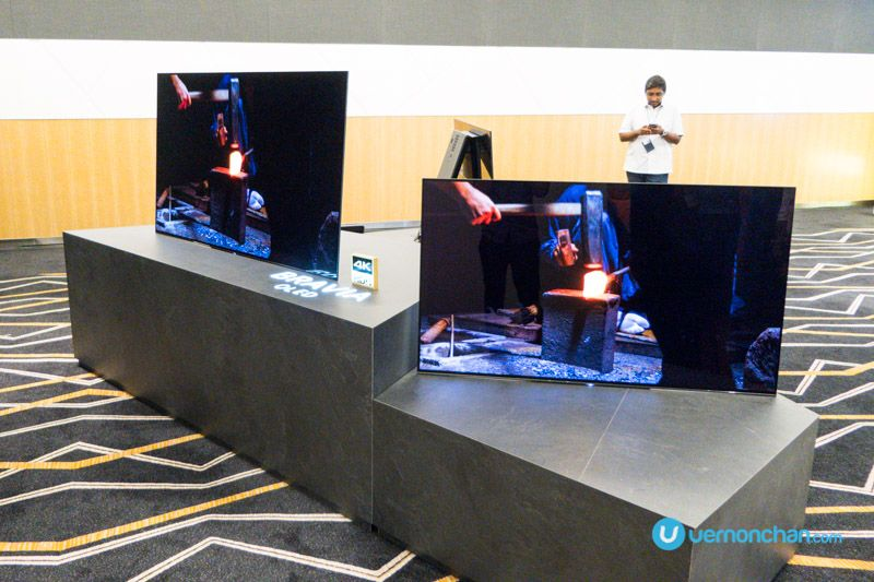 The 2017 Sony Bravia A1 Series Oled 4k Hdr Tv Is The World S First