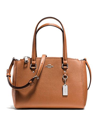 Coach Crossgrain Leather 26 Stanton Carryall Available Belk Now