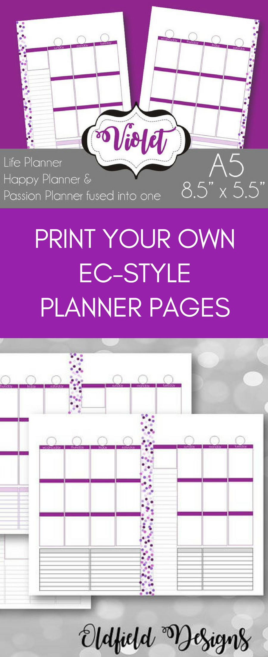 Wedding decorations lilac september 2018 Print your own planner pages with a vertical format like Erin