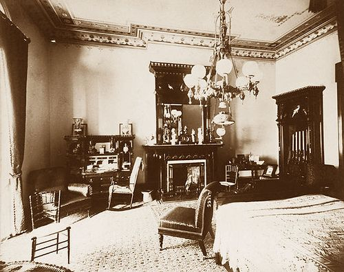 Bedroom Interior 1880 S Victorian Rooms Victorian House