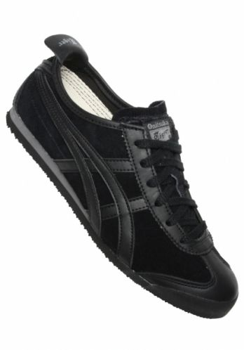 sports shoes e62df 21426 onitsuka tiger mexico 66 all black