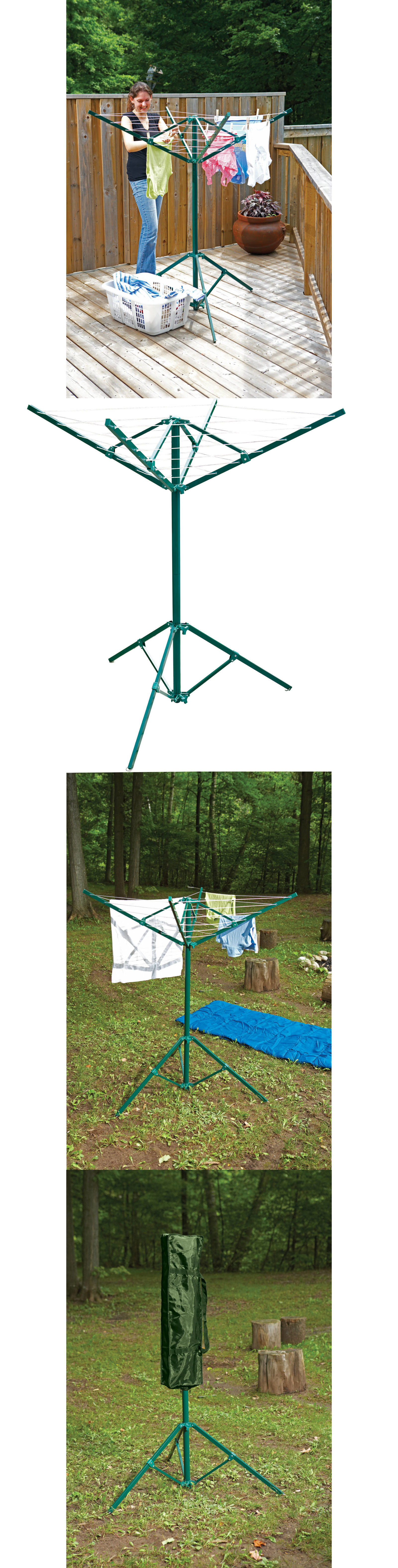 Clotheslines And Laundry Hangers 81241: Outdoor Portable Clothes Dryer  Rotary Clothesline Laundry Line Drying Rack