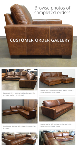 Outstanding Reno Leather Sectional Sofa With Cuddler Leather In Creativecarmelina Interior Chair Design Creativecarmelinacom