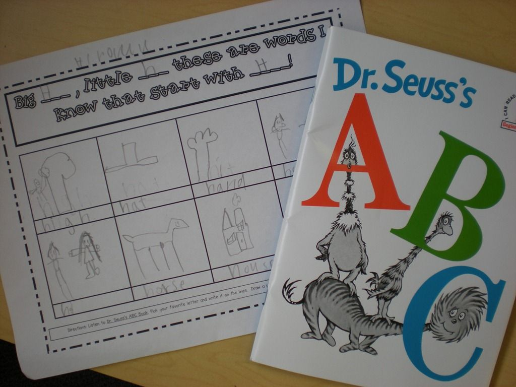 Dr Seuss Abc From Growing Kinders