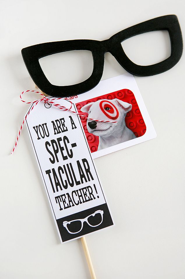 How to's : You Are A SPEC-TACULAR Teacher | Teacher Gifts