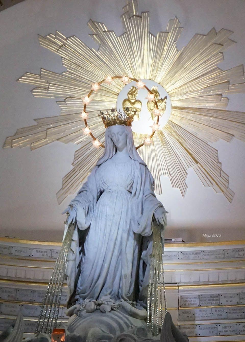 The chapel of our lady of the miraculous medal paris for Billetes de avion baratos barcelona paris
