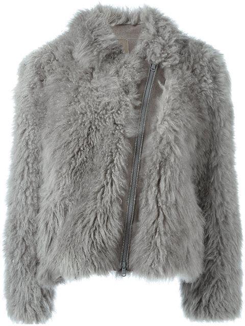 f2c8f63c1da1 Shop Brunello Cucinelli zipped fur coat in Eraldo from the world's best  independent boutiques at farfetch.com. Shop 400 boutiques at one address.