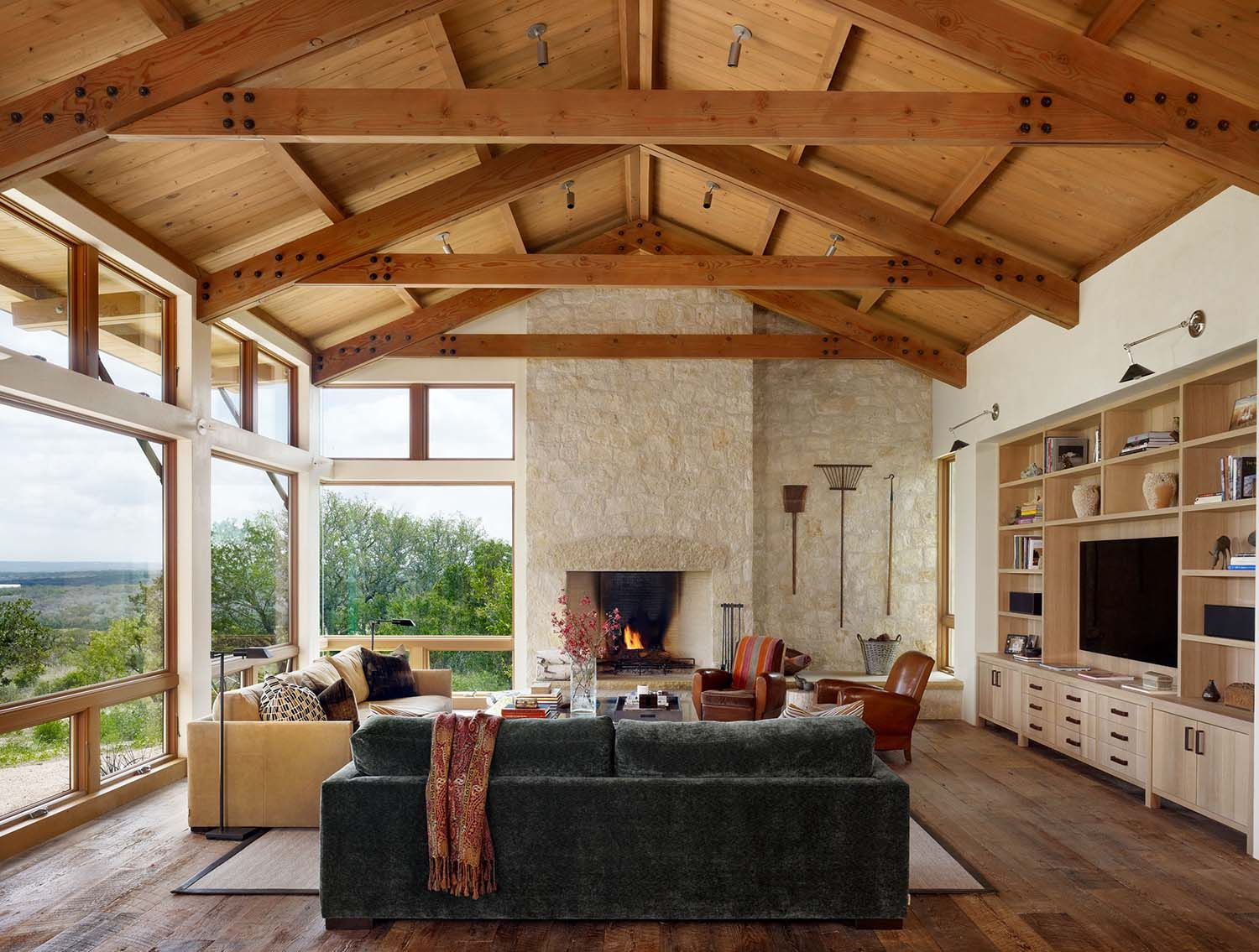 Fresh Twist On The Classic Ranch Style Home In Texas Hill Country