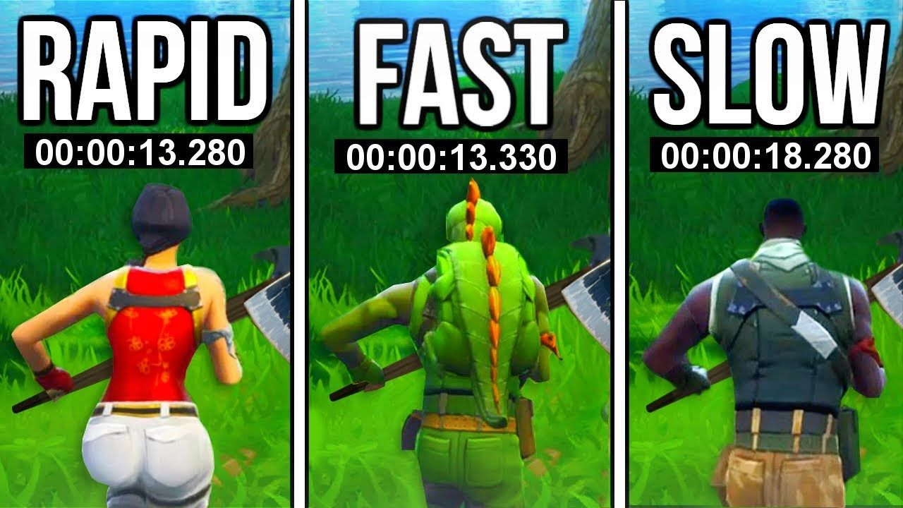 Buying SKINS in Fortnite Makes You RUN FASTER!!! (RIP