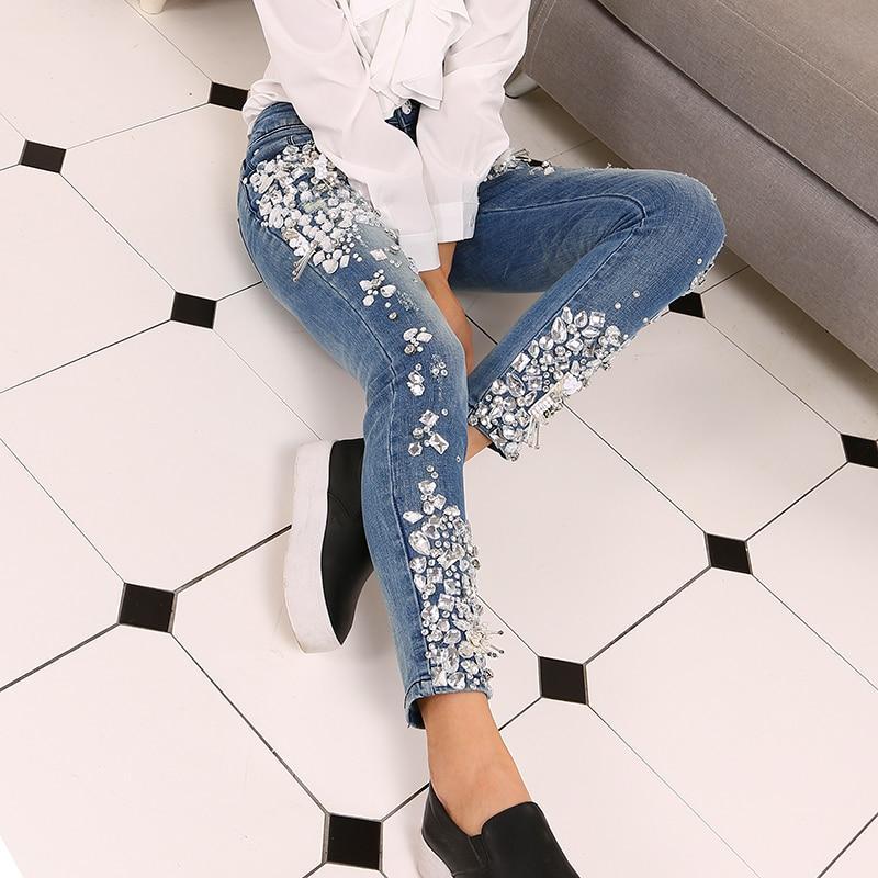 M//L//XL Women/'s Diamond Pattern Slim Skinny Pant