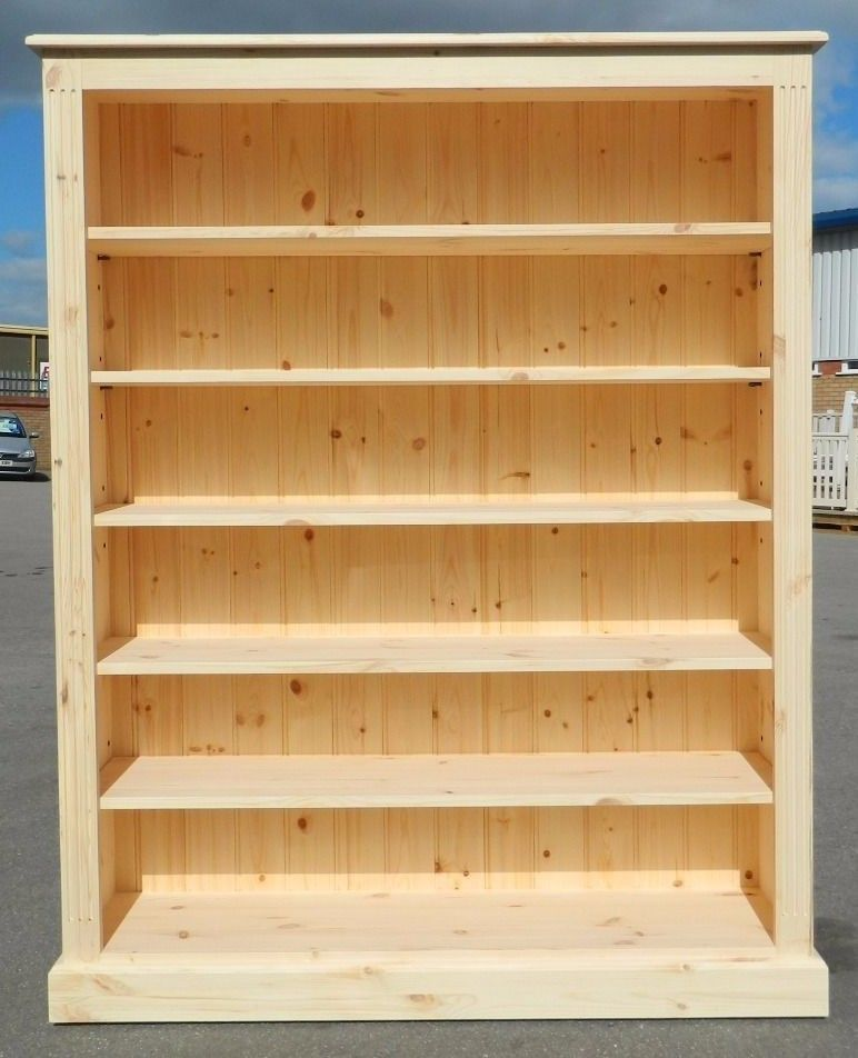 Solid Bookcase 5ft Tall X 4ft Wide Can Be Painted With