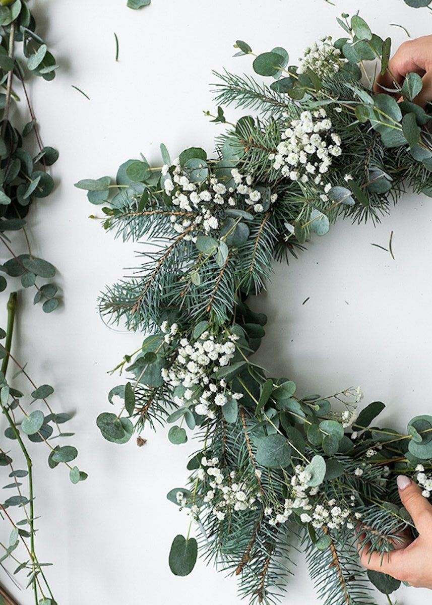 Tables de Noel en eucalyptus : 10 idées