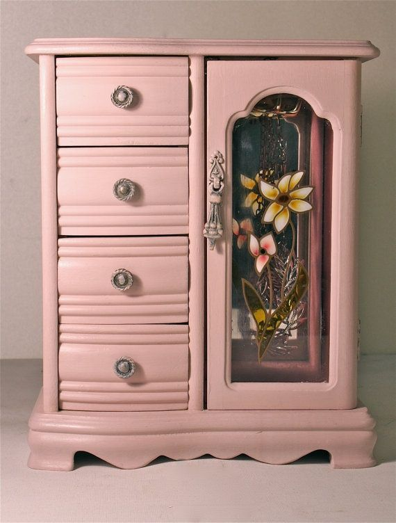 Vintage Jewelry Box Handpainted Black Friday | Painted ...