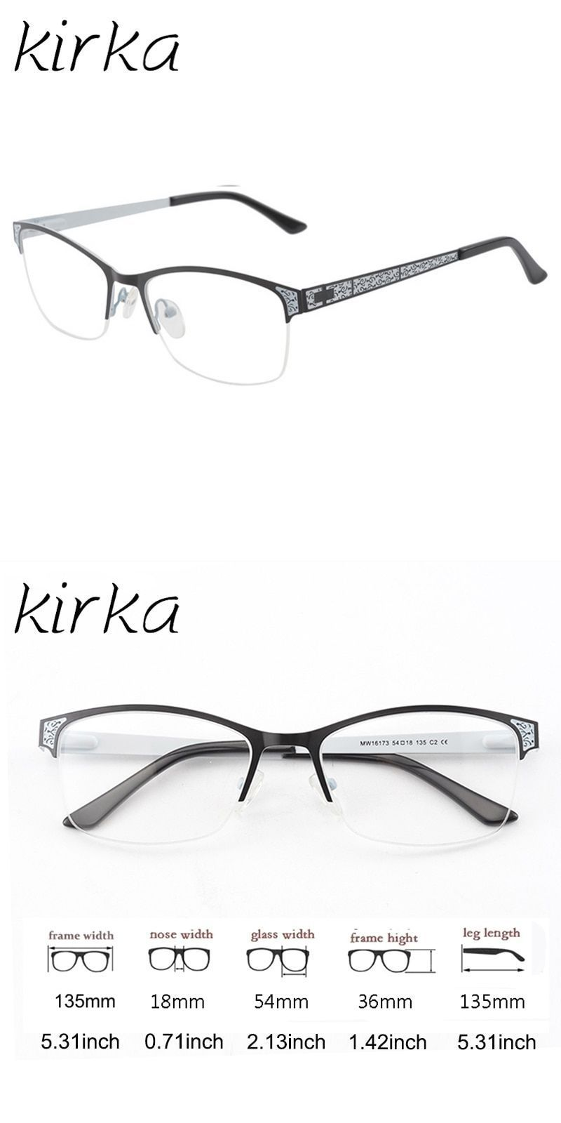 b1d209fbfba Women metal reading glasses frame female stainless steel optical eyeglasses  frame eyewear office lady and teacher style  frames  eyewear  accessories  ...