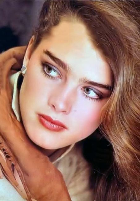 Matsyland Brooke Shields For Glamour Magazine 1981 Brooke Shields Beauty Pretty Face