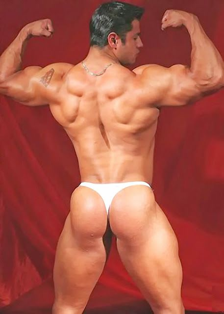 Buns of steel hunks ripped cocks