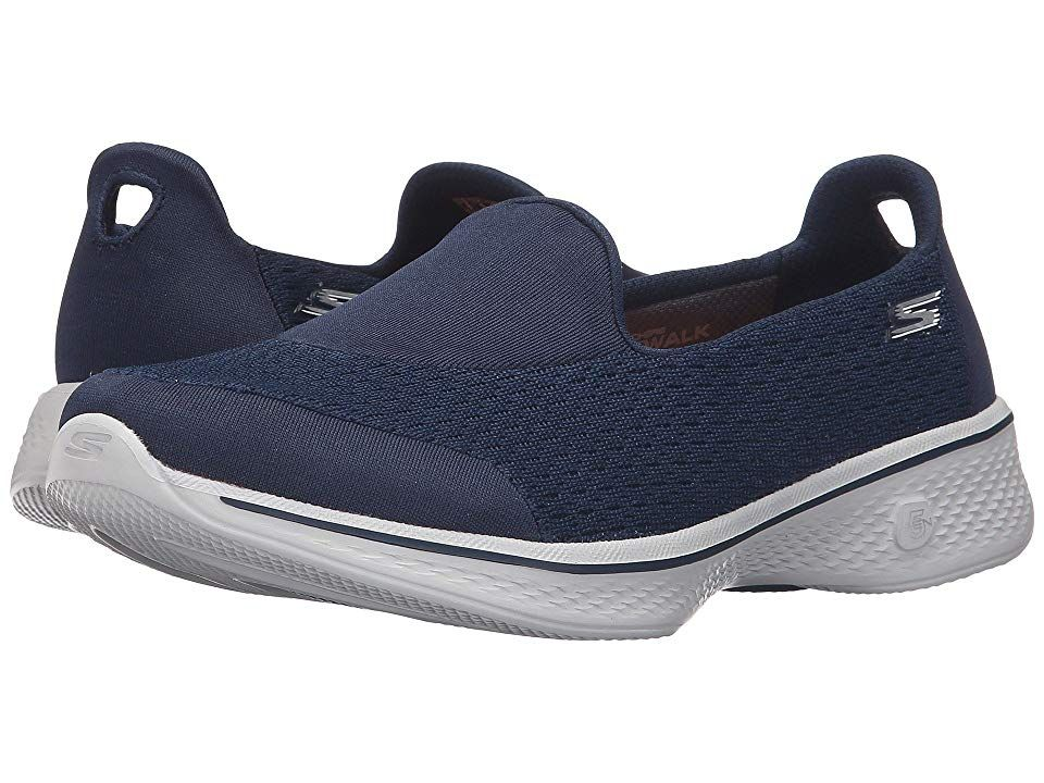 SKECHERS Performance Go Walk 4 Pursuit | NavyGray Take