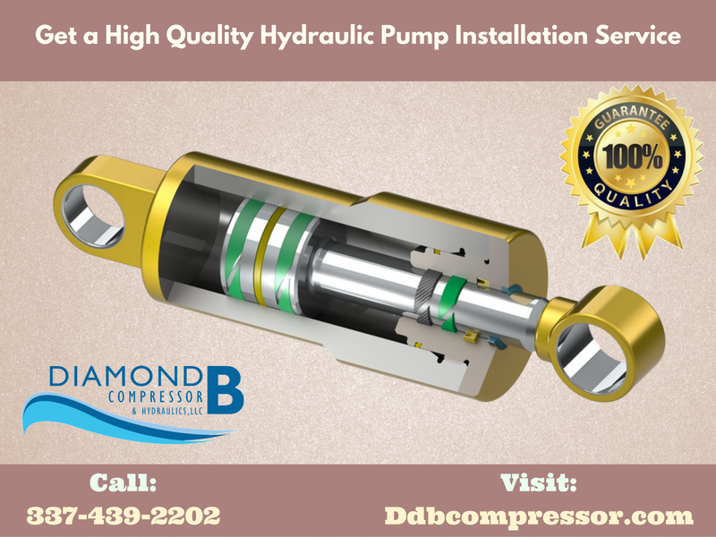 Are you looking for Lake Charles Hydraulic Pumps? Diamond