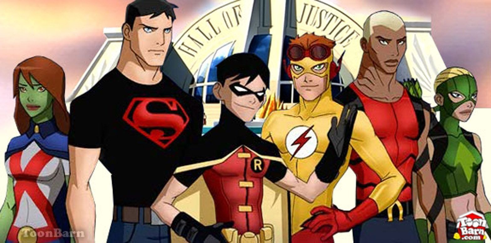 The First Season Of Young Justice On Cartoon Network Young Justice League Young Justice Justice League Characters
