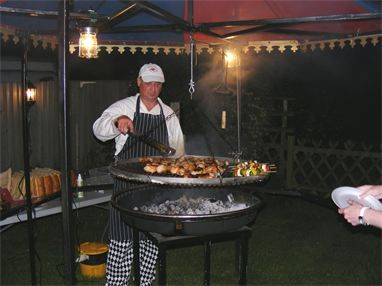 Alkham Valley Hog Roast evening BBQ