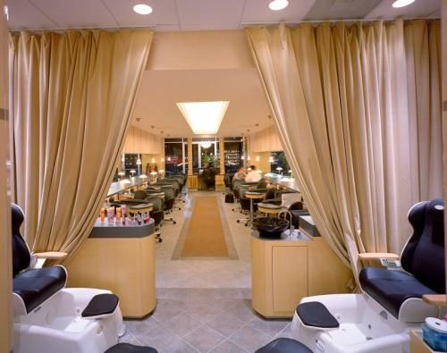 contemporary nail salon and spa google search - Nail Salon Interior Design Ideas