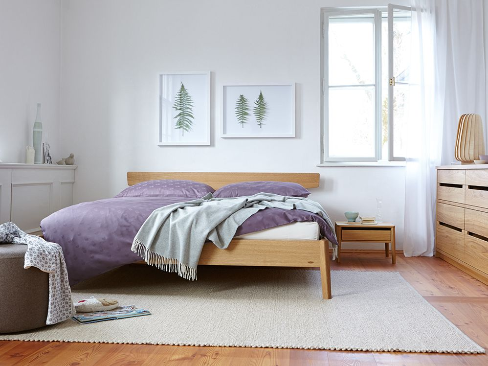 Bett Arne Mit Kopfhaupt Home Decor Minimalist Bedroom Home