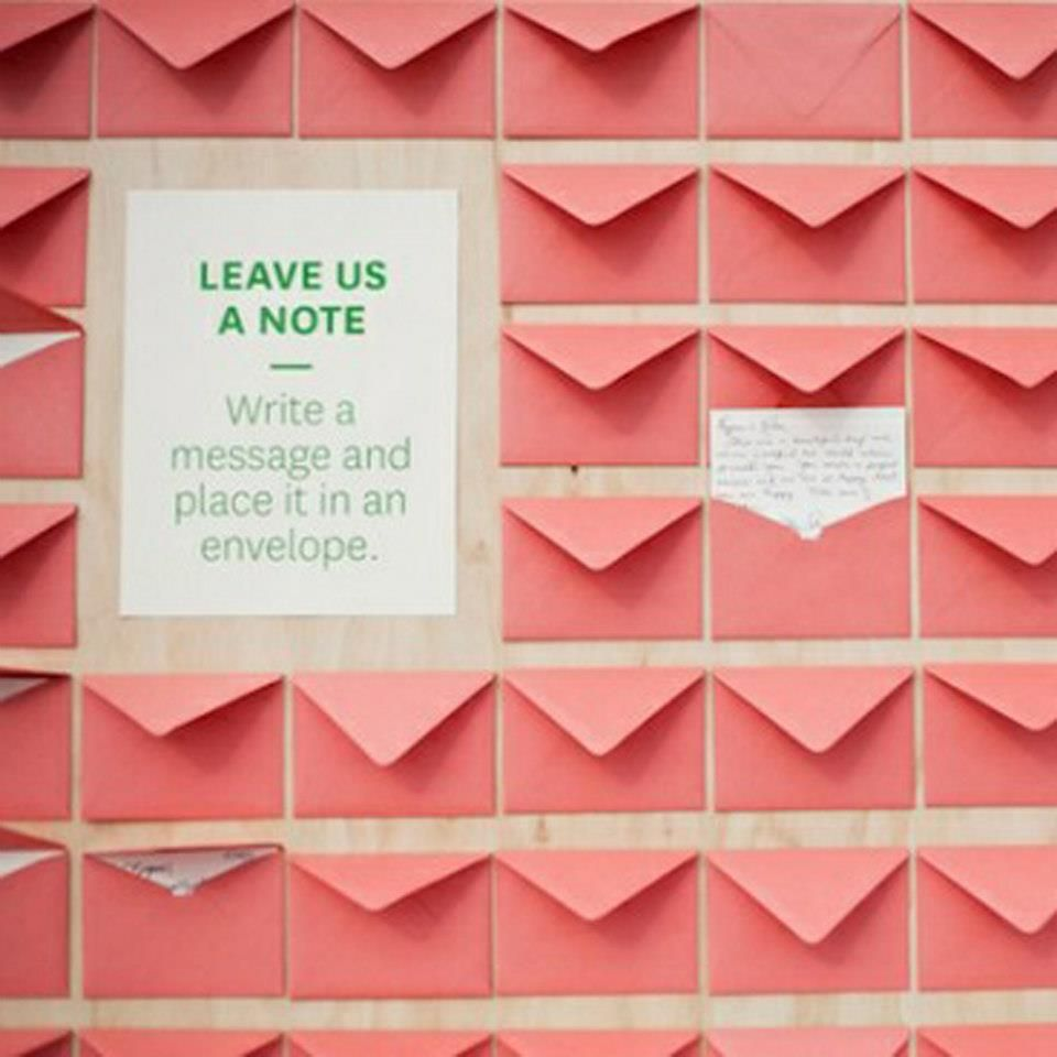 Memos : Mural de dedicatórias - alternativa a livro de honra | Party ...
