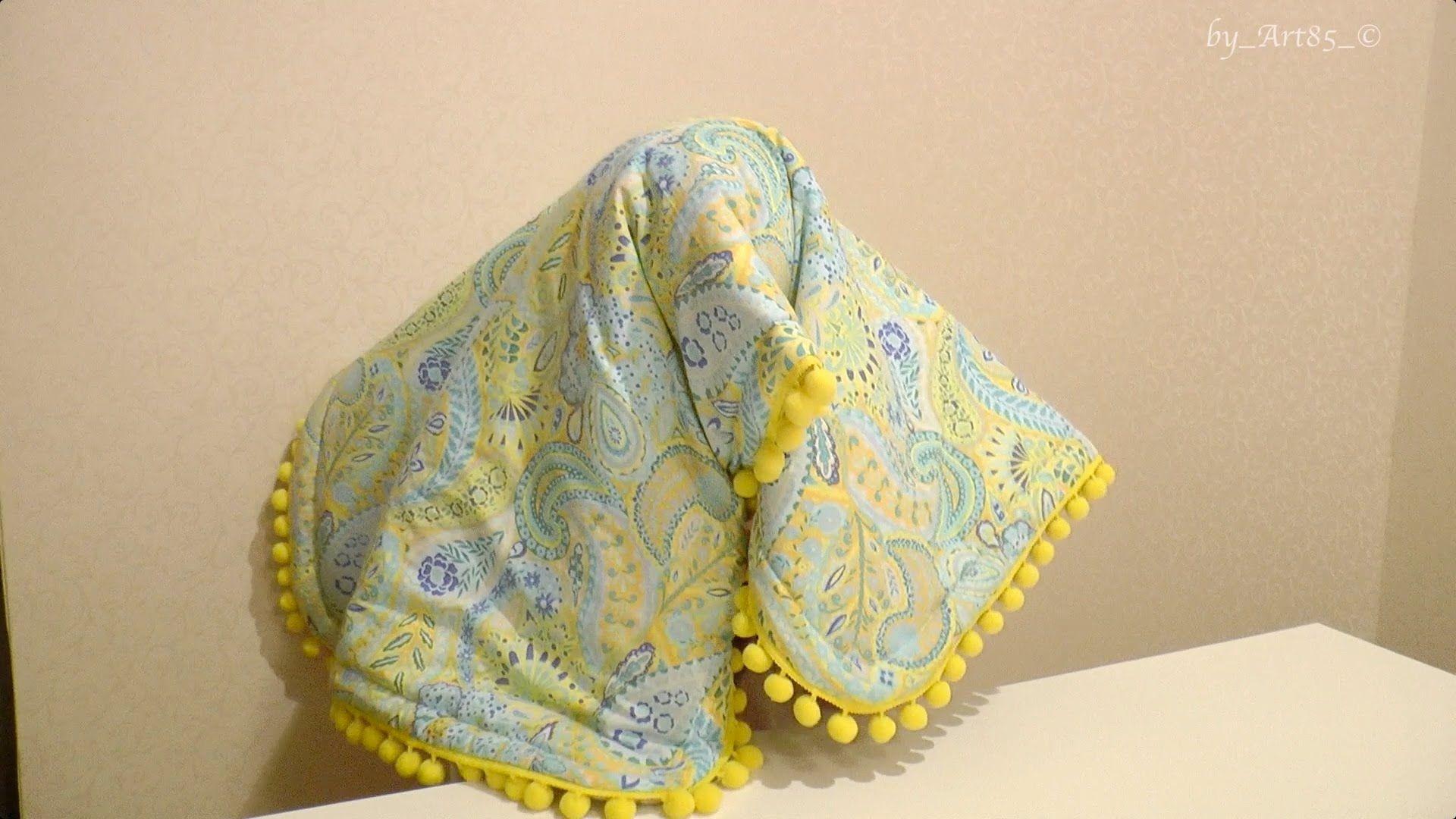 Мастер класс шьем детское одеялко / baby blanket - YouTube