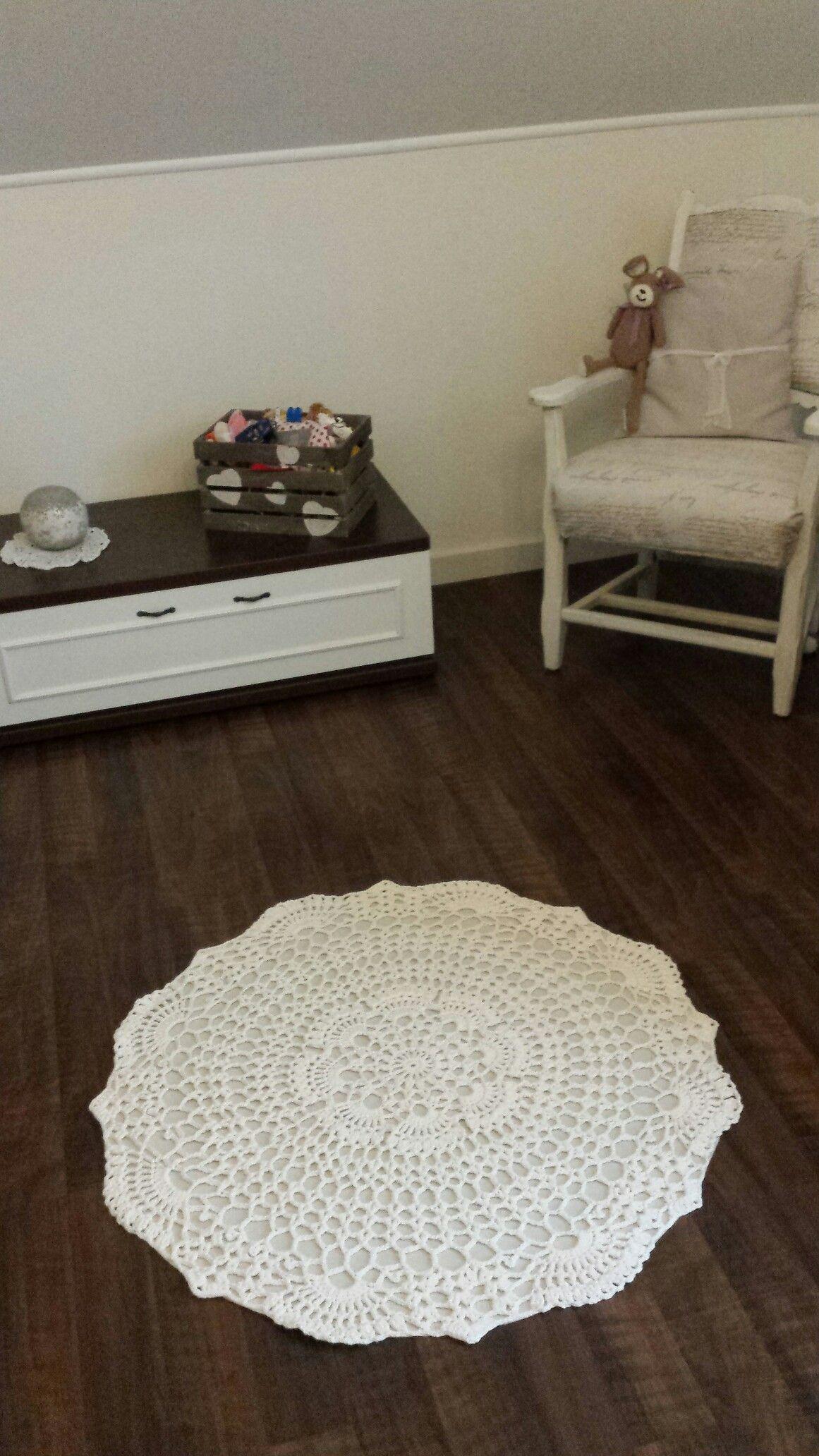 Mein erster gehäkelter Teppich | Meine welt♥ | Pinterest ...