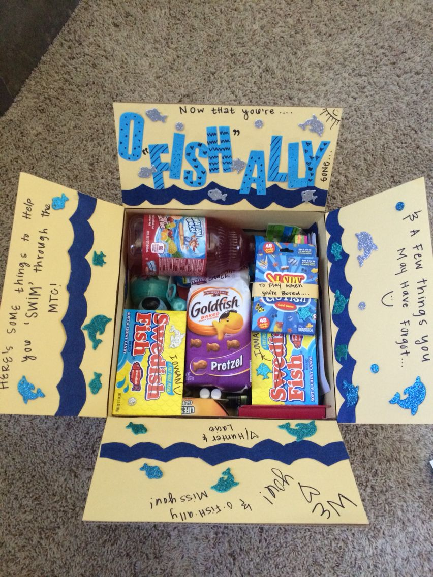 My first missionary care package for my best friend ...