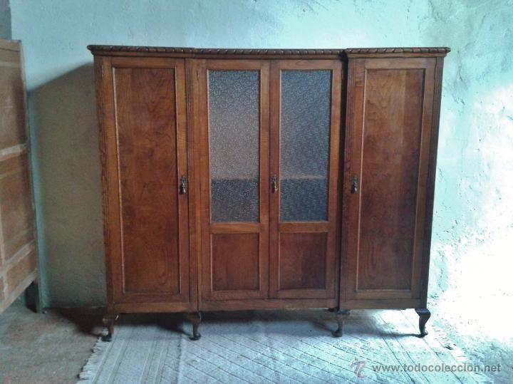 Antigüedades: armario antiguo, alacena antigua. armario vintage ...