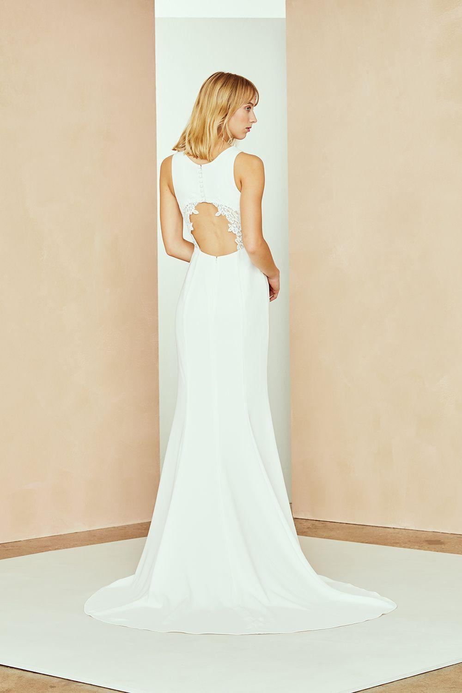 8e05b35d70c27 Strapless Taffeta A-line With Draped Skirt in 2019 | White dresses | Draped  skirt, Bridesmaid dresses, Wedding dresses