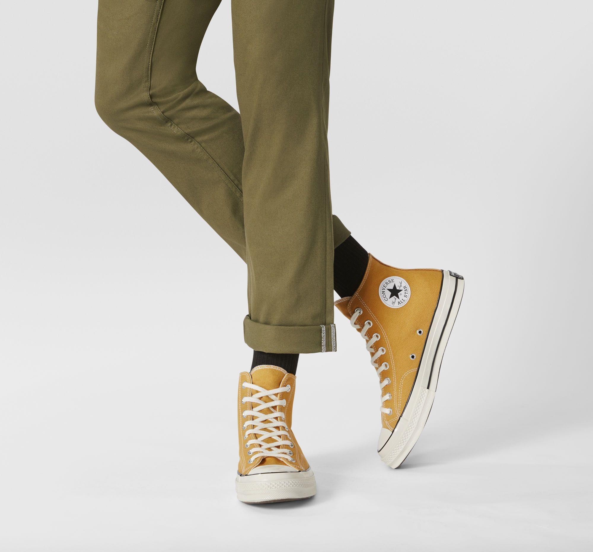 Chuck 70 Sunflower Yellow High Top Shoe