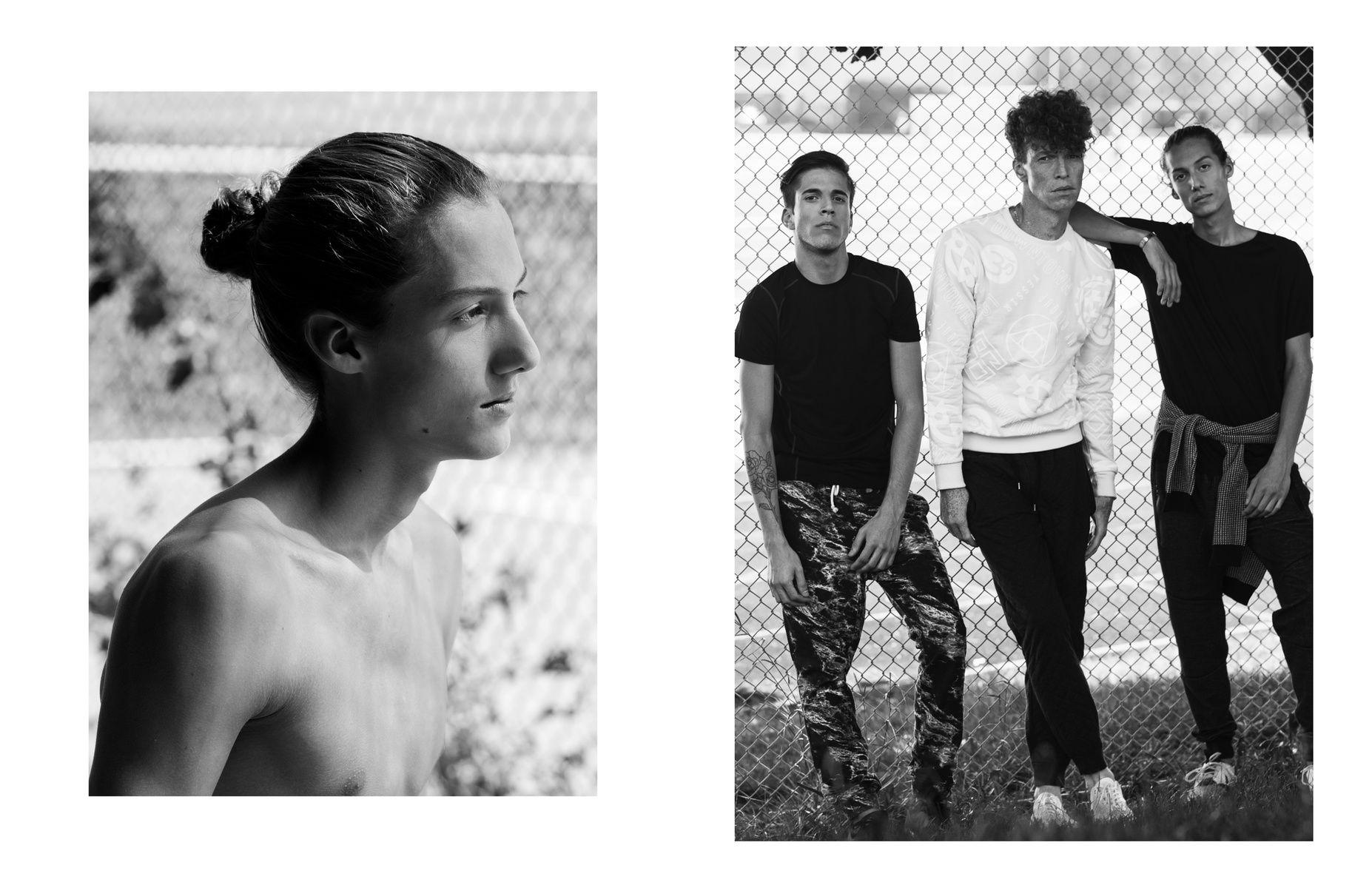 Toronto Fashion Photography Mens Creative Editorial Model Test