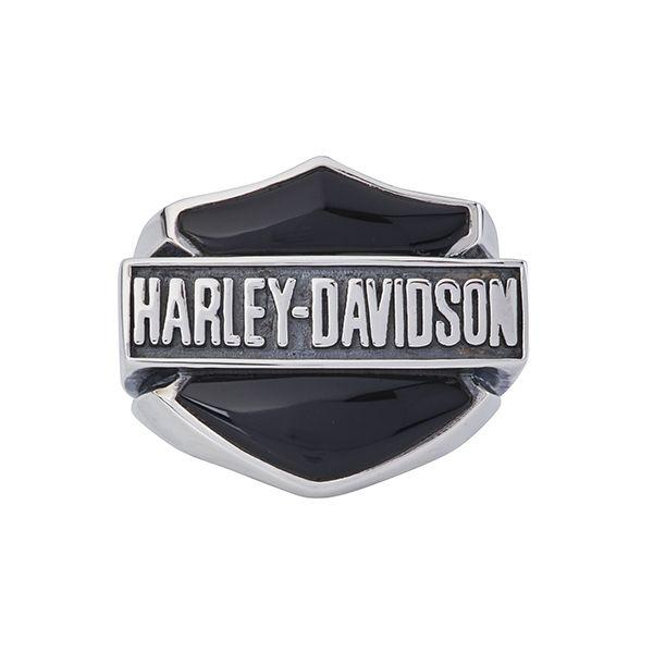 bague en argent harley davidson